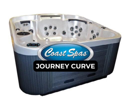 Coast Spas Journey Curve Hot Tub Cover