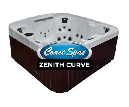 Coast Spas Zenith Curve Hot Tub Cover