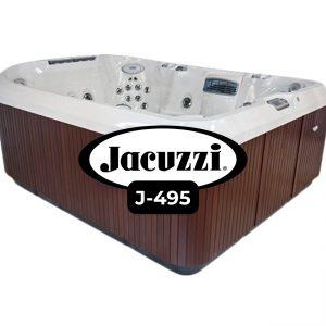Jacuzzi J-495 Hot Tub Cover